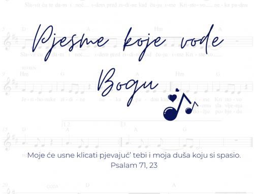Pjesme koje Mariju vode Bogu