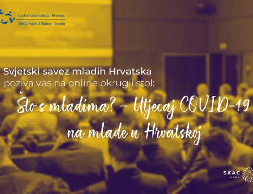 Što s mladima? – Utjecaj COVID-19 na mlade u Hrvatskoj
