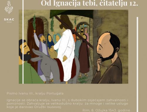 Od Ignacija tebi, čitatelju 12.