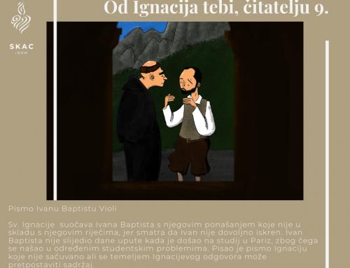 Od Ignacija tebi, čitatelju 9.