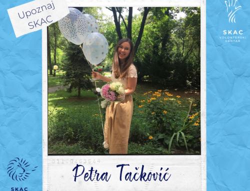 Upoznaj SKAC: Petra Tačković (24)