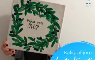 Slika nastala na radionici kaligrafije