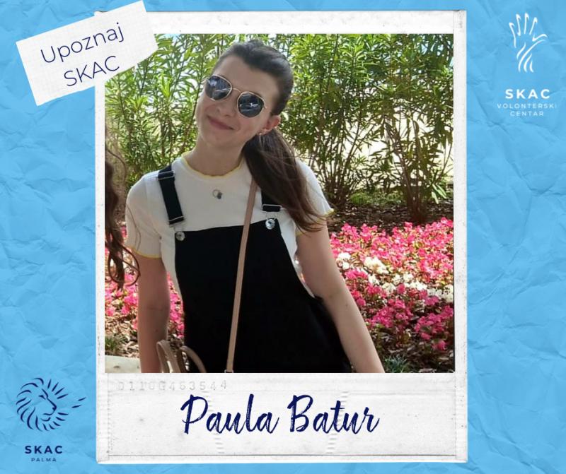 Upoznaj SKAC: Paula Batur - Božja ljubav kao životni