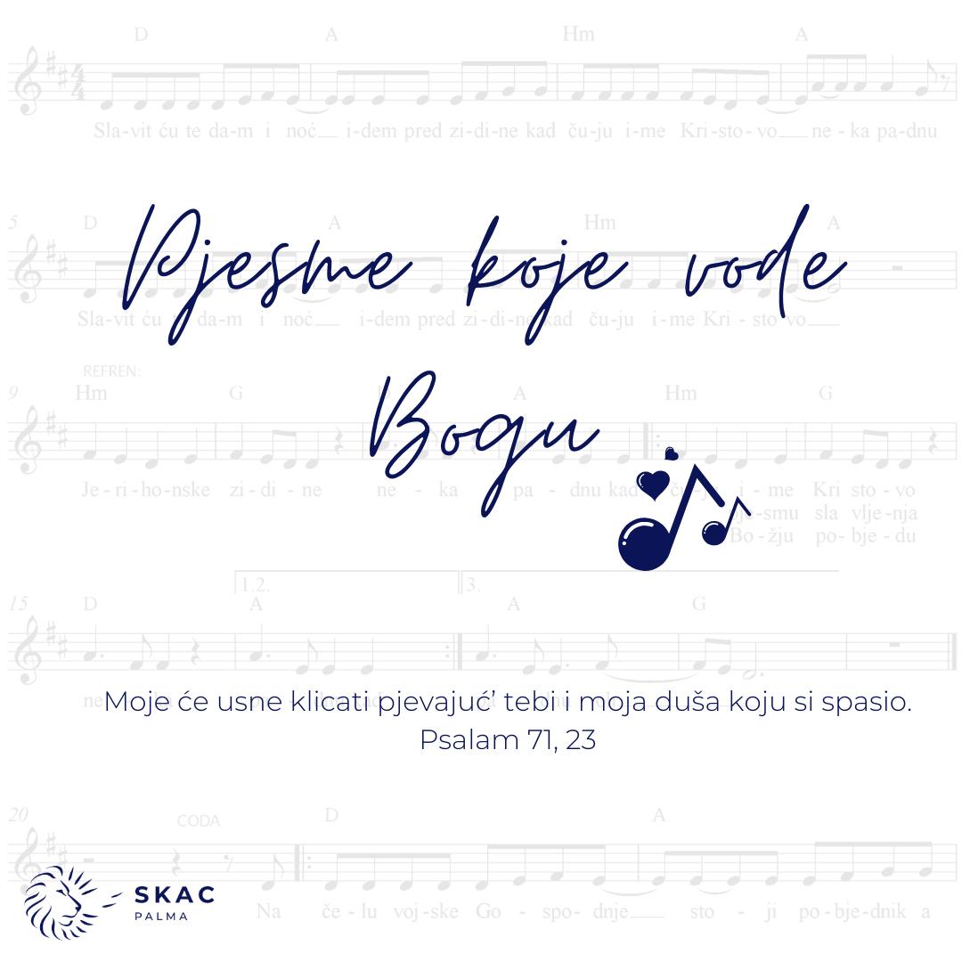 Pjesme koje Jakova vode Bogu