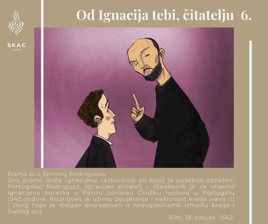 Od Ignacija tebi, čitatelju 6.
