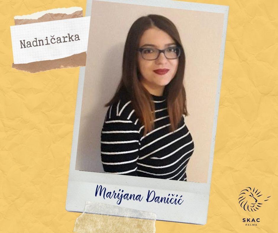 OVOTJEDNA NADNIČARKA: Marijana Daničić